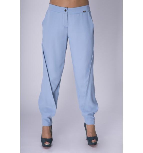 Spodnie niebieskie na zatrzaski