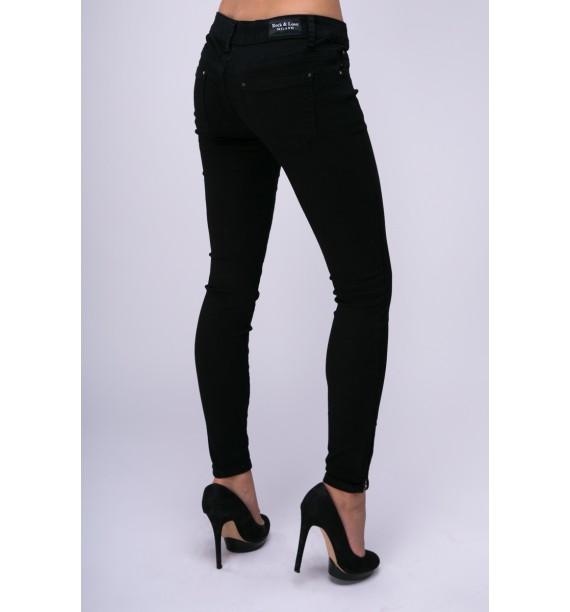 Spodnie jeans czarne